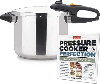 Zavor DUO 10 Quart Pressure Cooker with America's Test Kitchen Pressure Cooker Perfection Cookbook