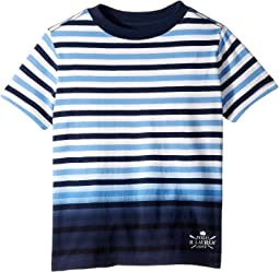 Ombré Striped Cotton T-Shirt (Little Kids/Big Kids)