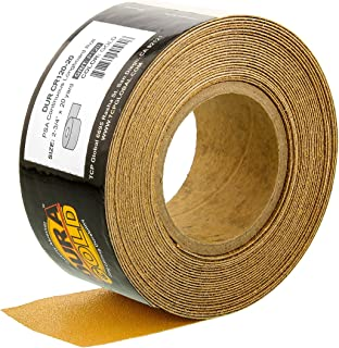 Dura-Gold - Premium - 120 Grit Gold - Longboard Continuous Roll 20 Yards long by 2-3/4