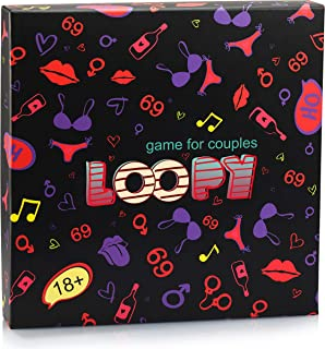Game for Couples LOOPY - Date Night Box - Couples Games and Couples Gifts That Improve Communication and Relationships