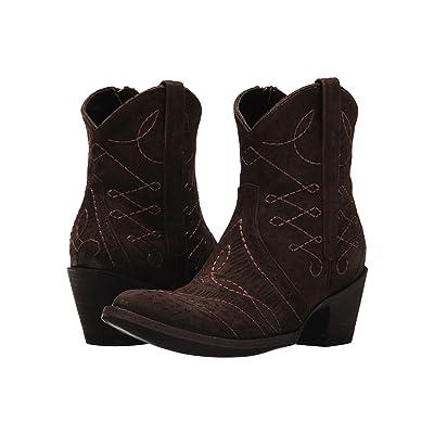 Old Gringo Viana LS (Vesuvio Chocolate) Cowboy Boots