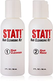 Sarken Nutrition Stat Hair Detox Shampoo Kit Cleans Impurities From Hair Follicle
