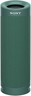 Sony SRS-XB23 Extra BASS Wireless Portable Speaker IP67 Waterproof Bluetooth and Built in Mic for Phone Calls, Olive Green