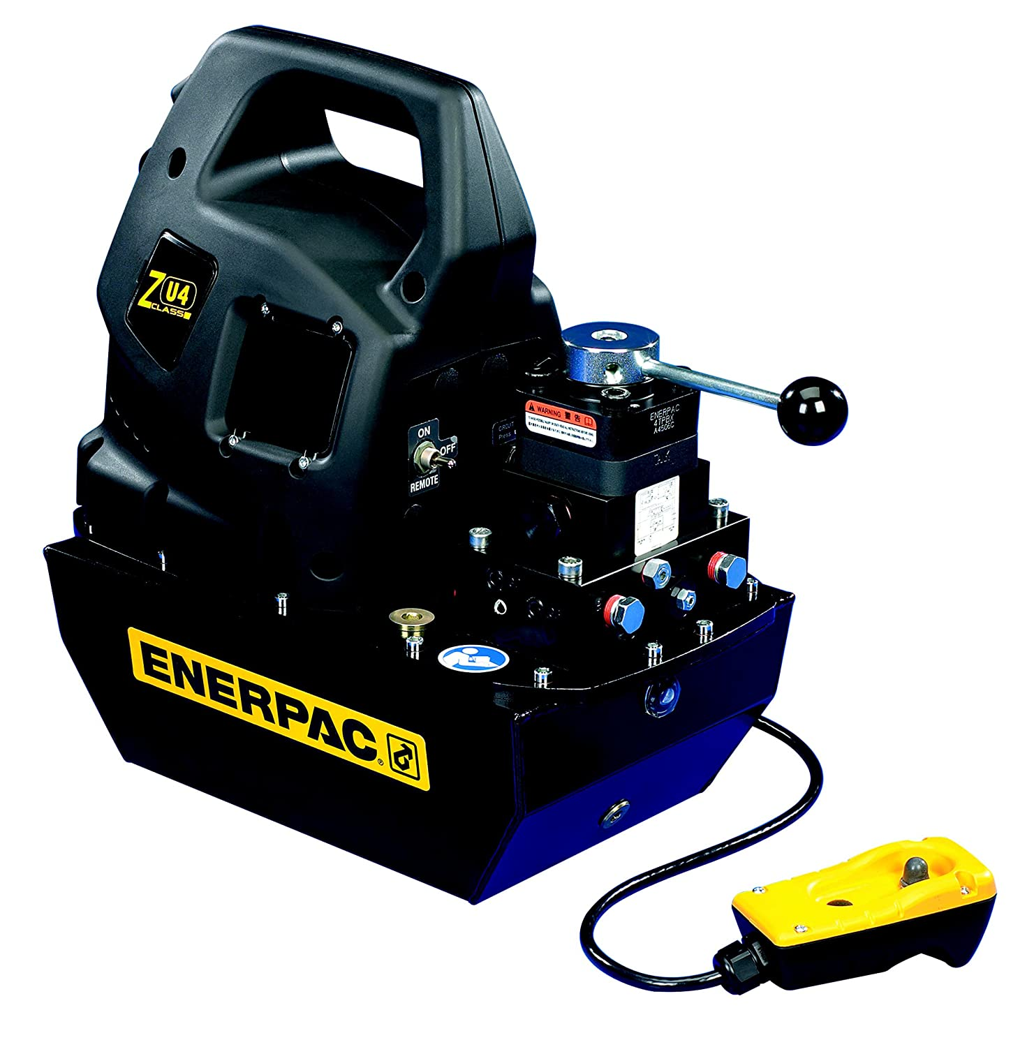 Enerpac ZU4708PB Max 54% Complete Free Shipping OFF Universal Electric Pump VM22 Bas with Valve Jog