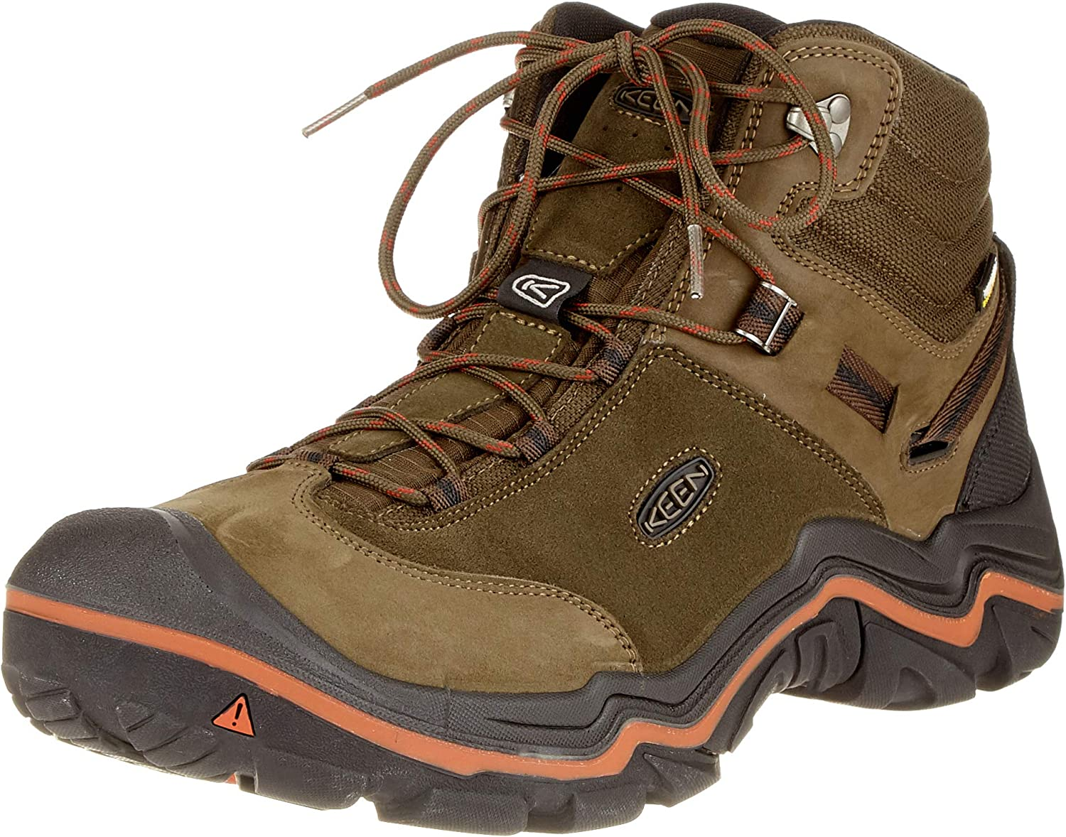 KEEN Mens Wanderer Mid Wpm Hiking Boot
