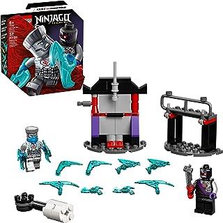LEGO NINJAGO Epic Battle Set – Zane vs. Nindroid 71731 Building Kit; Ninja Toy Playset Featuring a Spinning Battle Toy, Ne...