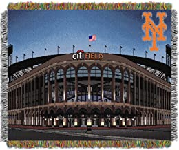 MLB New York Mets Stadium Woven Tapestry Throw, 48