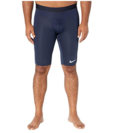 Nike Big Tall Pro 9 Training Shorts (Obsidian/White/White) Men