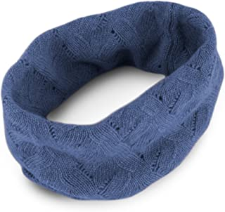 Women's 100% Cashmere Infinity Scarf Snood - made in Scotland by Love Cashmere RRP 150