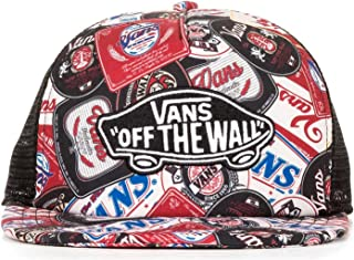 Vans Off The Wall Classic Patch Beer Belly Snapback Hat Cap-Beer Belly-One Size