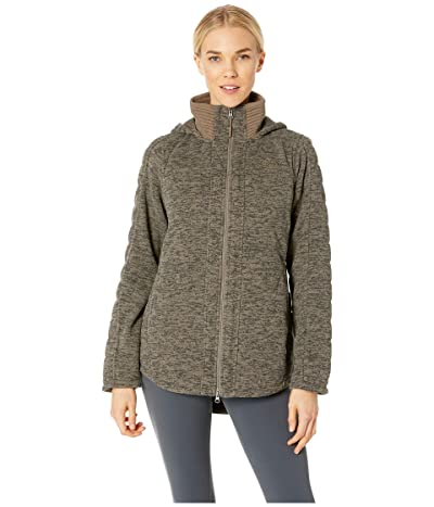 The North Face Indi Insulated Parka (Weimaraner Brown Heather) Women