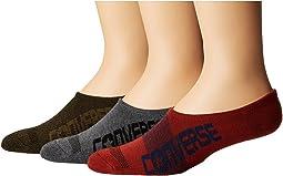 Converse - 3-Pair Pack Made for Chuck Bold Converse Logo