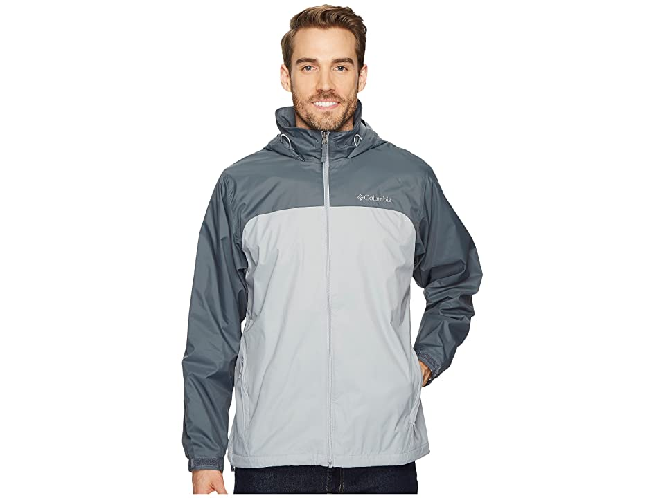 Columbia Glennaker Lake Lined Rain Jacket (Columbia Grey/Graphite) Men