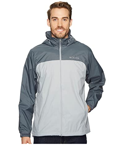 Columbia Glennaker Lake Lined Rain Jacket (Columbia Grey/Graphite) Men