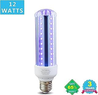 Blacklight Bulb,Lee Lighting 12W LED UV Ultraviolet Blacklight AC90-265V