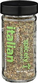 Spicely Organic Seasoning Italian 0.50 Ounce Jar Certified Gluten Free