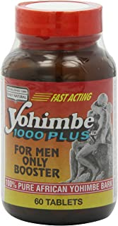 Only Natural Yohimbe 1000 Plus, 60-Count