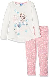 Disney Frozen Niña de set de cristal copos de nieve pijama de Frozen