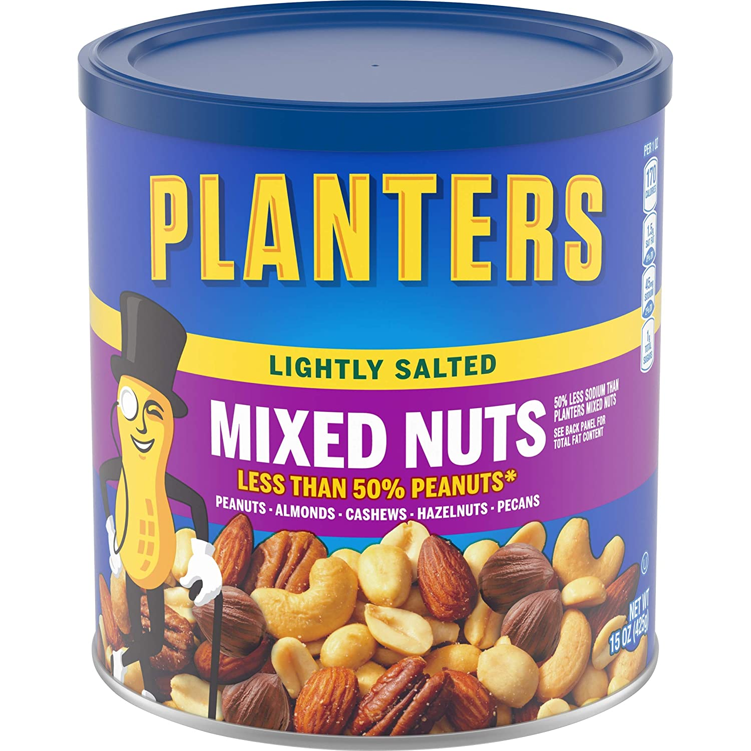 Planters Lightly Salted Mixed Great interest Nuts List price 15 Can oz