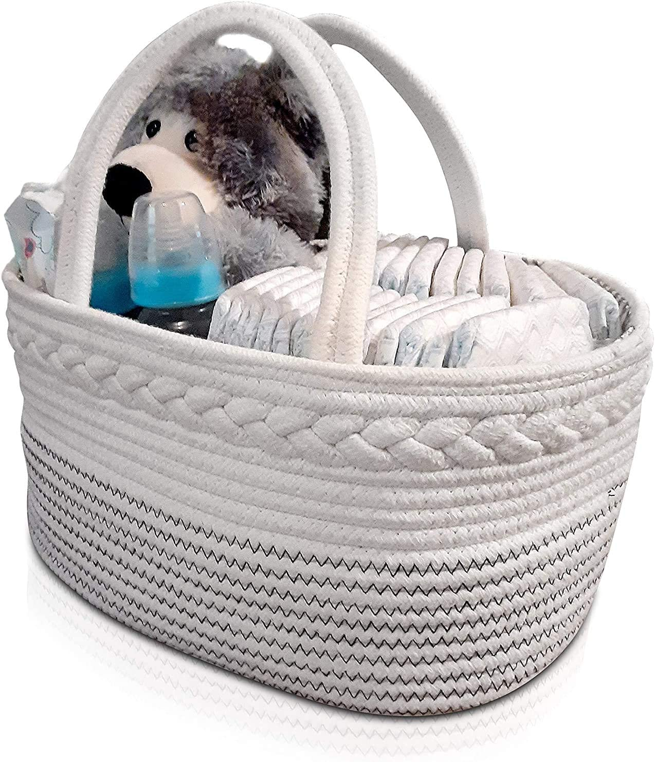 Baby Max 42% OFF Diaper Caddy - Shower Gift Nursery Bin Storage Basket Animer and price revision