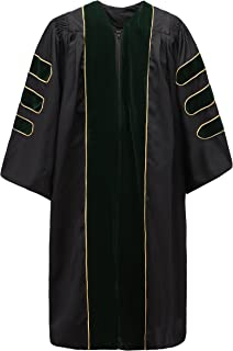 pulpit robes with doctoral bars