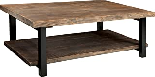 Alaterre AZMBA1220 Sonoma Rustic Natural Coffee Table, Large, Brown, 48