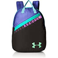 Under Armour Girls' Favorite Backpack 3.0 (Black/Green Typhoon)