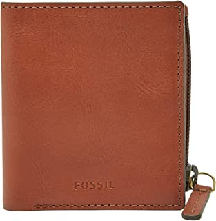 Fossil Men's Philip Coin Pocket Bifold Leather Wallet