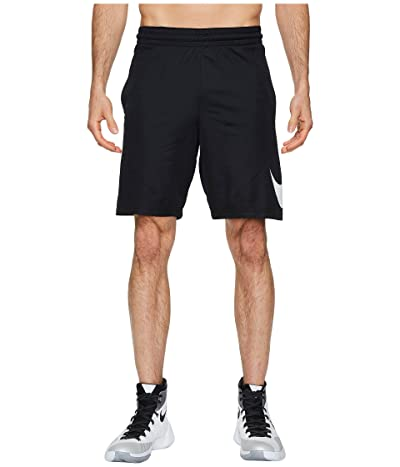 Nike Dry 9 Basketball Short (Black/Black/White) Men