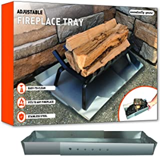 Essentially Yours Adjustable Fireplace Tray