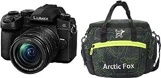 Panasonic Lumix DC-FZ1002 20.1MP Mirrorless Camera with 12-60mm Leica Lens (4K Recording, 16x Optical Zoom, Wi-Fi & Bluetooth) + Arctic Fox Sling Shutter Topography Camera Bag