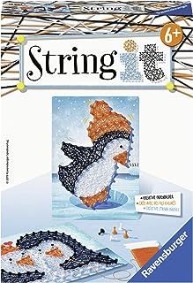 Ravensburger- String It Mini: Pingouin Loisir Créatif, 4005556180677