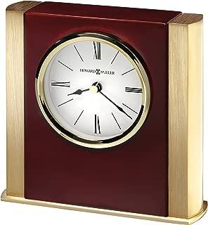 Howard Miller AMBROSE Table Clock, Rosewood