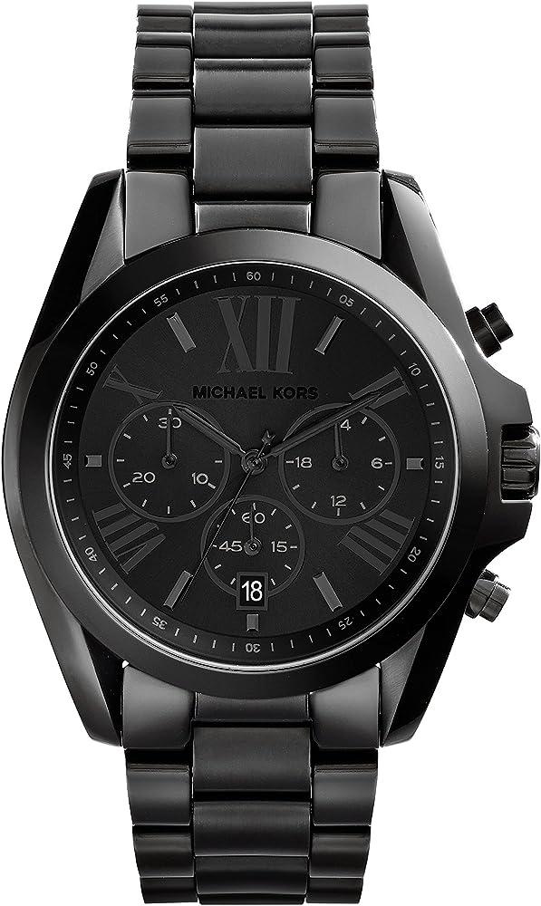 Michael kors, cronografo, orologio da donna, in acciaio inossidabile MK5550