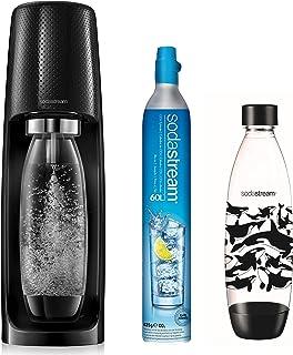Sodastream SPIRITNATURE Machine à Eau Petillante, Plastique, Noire