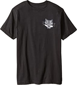 Hell Cat Short Sleeve Screen Tee (Big Kids)