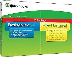 QuickBooks Desktop Pro 2019 with Enhanced Payroll [PC Disc][Old Version]
