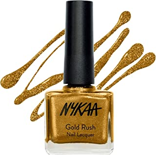 Nykaa Gold Rush Nail Lacquer Gold Mine 113