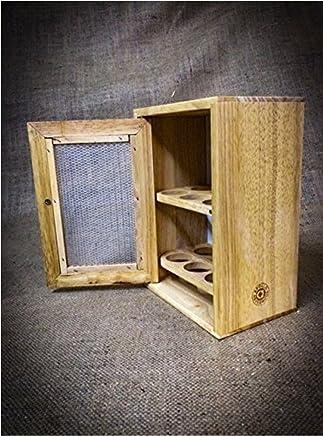 Preisvergleich für Stilvoller Eierbecher Aus Holz Schrank-Regal