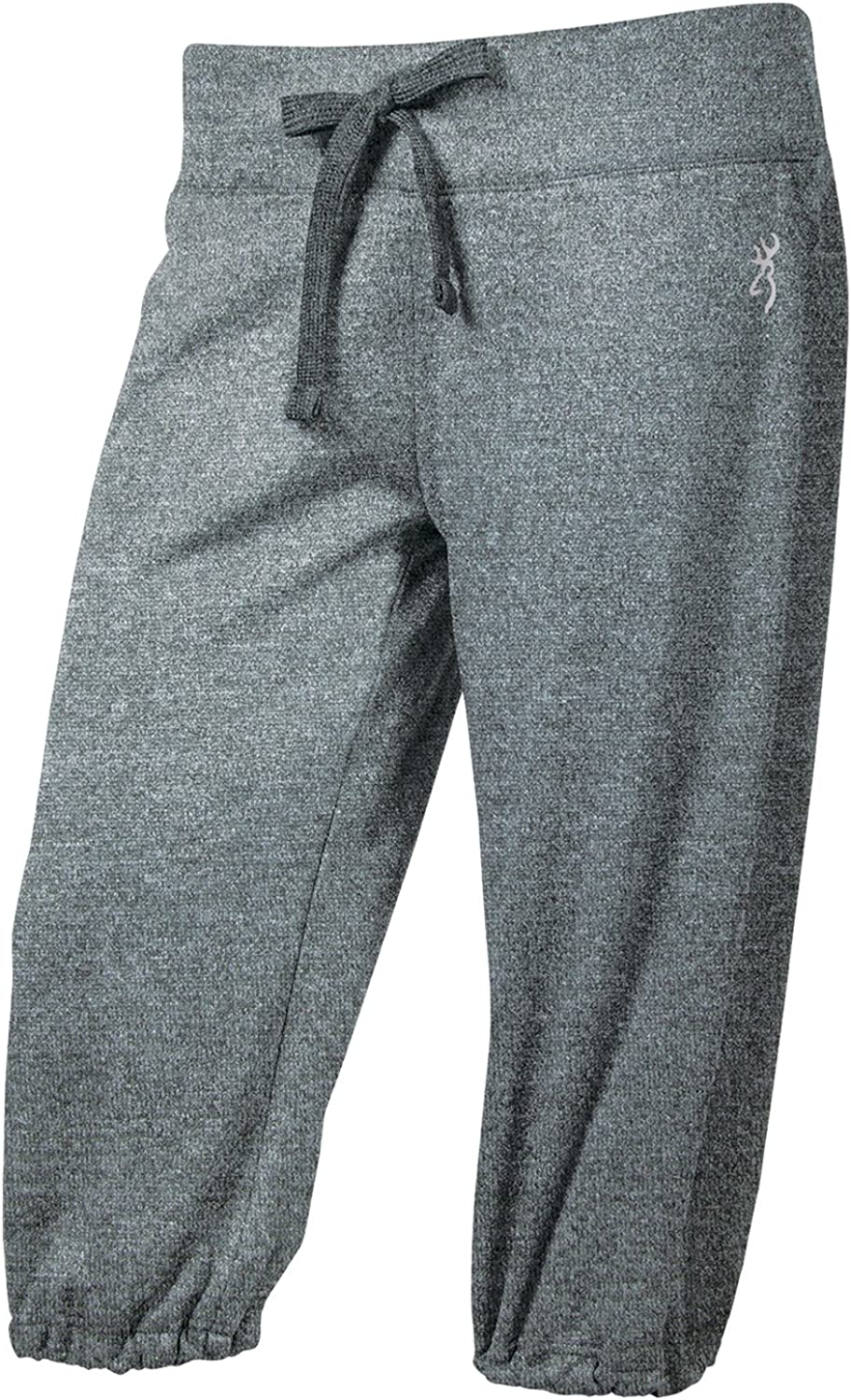 Browning Womens Performance Loose Capri, Heather Charcoal, Pack Of 1