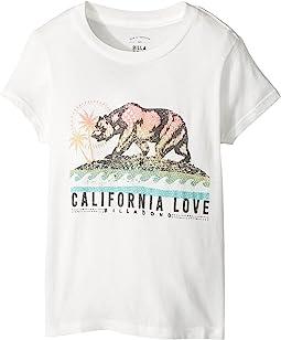 Billabong Kids - Cali Love Bear Tee (Little Kids/Big Kids)