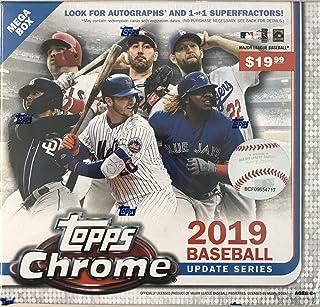2019 Topps Chrome Baseball Update Mega Box