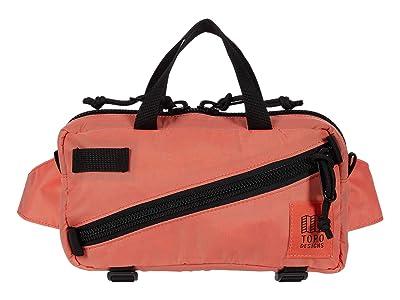 Topo Designs Mini Quick Pack (Coral/Coral) Cross Body Handbags