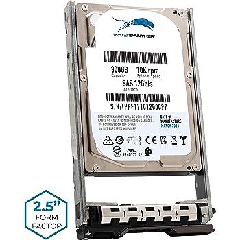 YJ2KH Dell 300GB 10K 2.5 SAS 12Gbs HDD Renewed