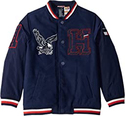 Varsity Jacket with Velcro® Shoulder Closure (Little Kids/Big Kids)