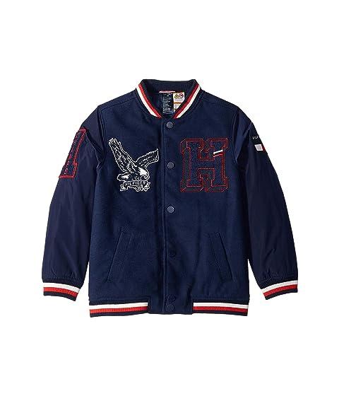 Varsity Jacket with Velcro<sup>®</sup> Shoulder Closure (Little Kids/Big Kids)