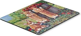 Caroline's Treasures Apple Helper Corgis Mouse Pad/Hot Pad/Trivet (7351MP)