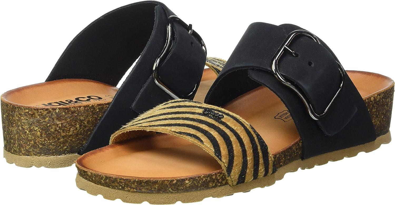 IGI&CO Women's DSM 71851 Slide Sandal, Multi-Coloured, 2 UK