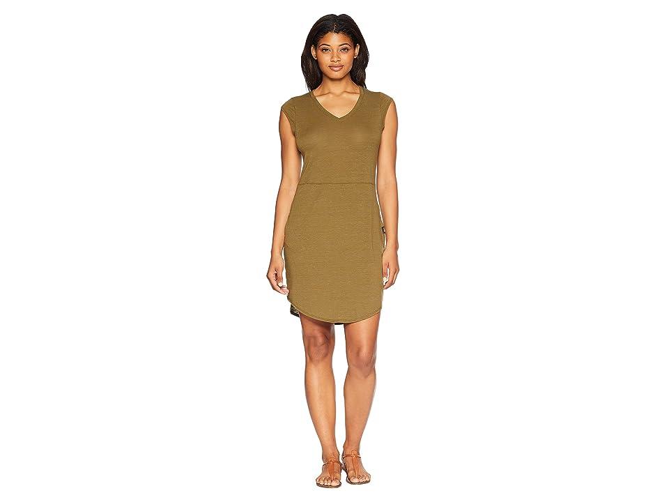 The North Face Short Sleeve EZ Tee Dress (Beech Green Heather) Women