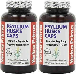 Yerba Prima Psyllium Husks , 625 Mg, 180 X 2
